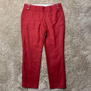 Ann Taylor Loft Marisa Wool Pants 8P Petite